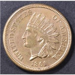 1861 INDIAN HEAD CENT  CH UNC