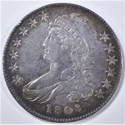 1808 BUST HALF DOLLAR  AU