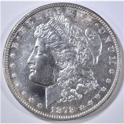 1878 7/8TF STRONG  MORGAN DOLLAR  BU PL