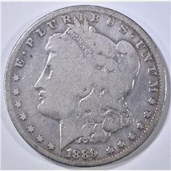 1889-CC MORGAN DOLLAR  VG