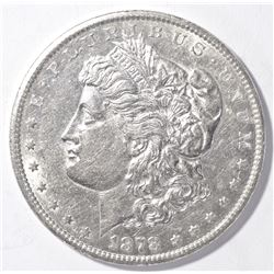 1878-CC MORGAN DOLLAR AU/BU