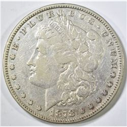 1878 8TF MORGAN DOLLAR  XF