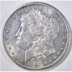 1890-S MORGAN DOLLAR BU