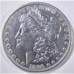 1896-O MORGAN DOLLAR AU