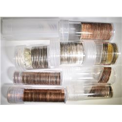 MIXED GROUP OF SMS COINS: