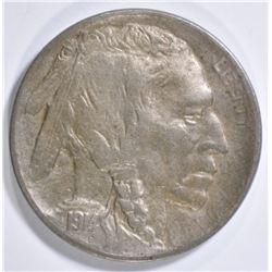 1914-D BUFFALO NICKEL  XF/AU