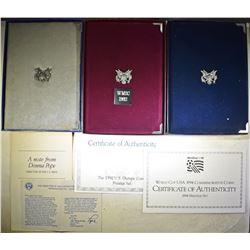 1986, 1992 & 1994 PRESTIGE SETS