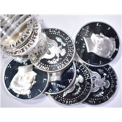 (9) SILVER KENNEDY HALVES: 2-2001-S, 3-2005-S,
