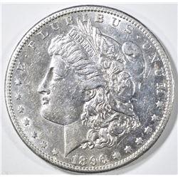 1896-S MORGAN DOLLAR  CH AU