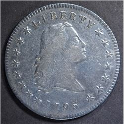 1795 FLOWING HAIR DOLLAR  VF/XF