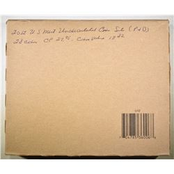 2012 U.S. MINT UNC SETS IN SEALED BROWN BOX