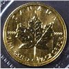 1998 1/10 oz CANADA GOLD MAPLE LEAF .9999 FINE
