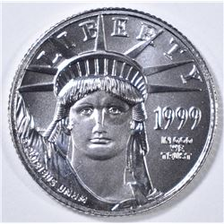 1999 1/10 oz PLATINUM AMERICAN EAGLE