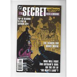 Batman Secret Files Issue #1 by DC Comics