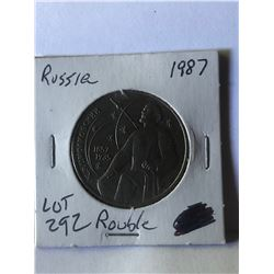 1987 Russia hard to get Rouble Coin