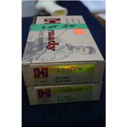Hornady - 257 Wby (2 Boxes)