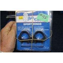 3 Pkgs Scope Rings