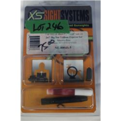 2 Sight Systems by Williams & X5 Sight System