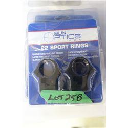 Sun Optics .22 Sport Rings (5)