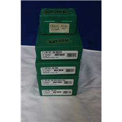 4 RCBS FL Die Sets & Ram Primer & Press Top