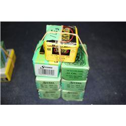 Bullets - 7 boxes (1 part box)