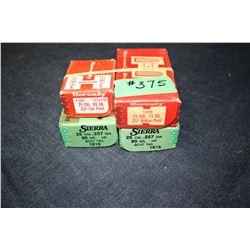 Bullets - 4 boxes (1 partial)