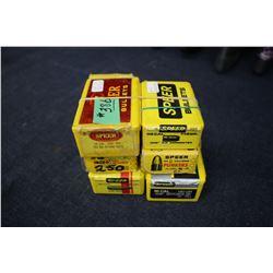 Bullets - 6 partial boxes