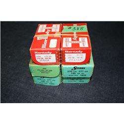 Bullets - 6 boxes