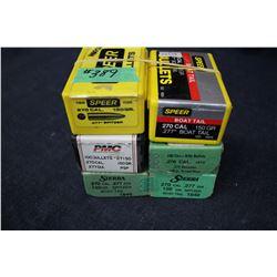 Bullets - 6 boxes (1 partial)