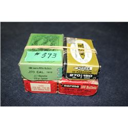 Bullets - 4 boxes (some partial)