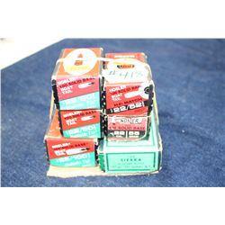 Bullets - 4 boxes & 2 partial boxes