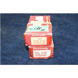 Bullets - 2 boxes & 1 partial box (149)