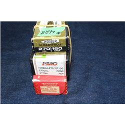 Bullets - 3 boxes (1 partial box) (200+)