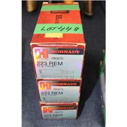 Ammunition - 3 boxes - 150 rnds