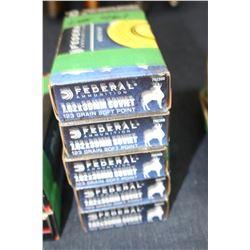 Ammunition - 5 boxes - 100 rnds