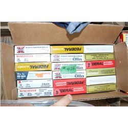 Ammunition - 18 boxes (5/box)