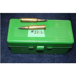 Ammunition - 1 box of 60
