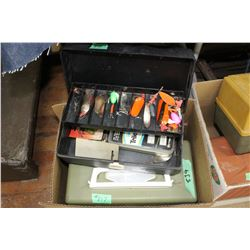 Tackle Boxes w/Contents (2)