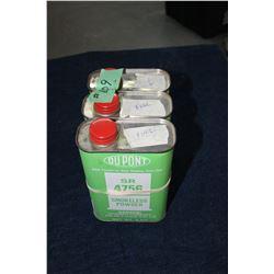 Smokeless Gun Powder - 2 1/4 tins
