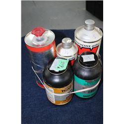 Gun Powder - 1 Full & 4 Part Containers
