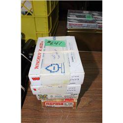 Ammunition - Reloads - 4 boxes