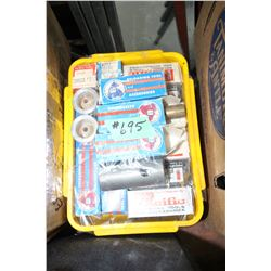 Box of Reloading Tool Accessories