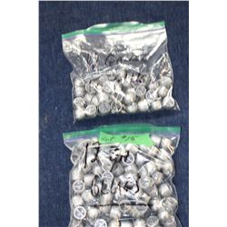 Lead Slugs - 2 Bags (80+)