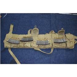 Ammo Belt w/20+ Clips of Ammuntion
