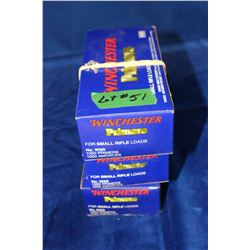Winchester Small Rifle Primers - 3 Boxes