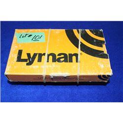 2 Lyman Ingot Moulds