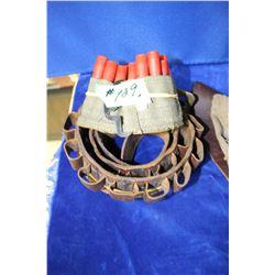 Shot Shells & 2 Ammo Belts