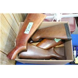 8 Wooden Gun Butts