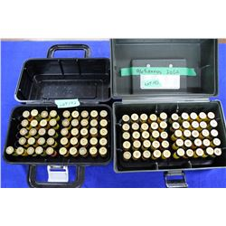 96 rnds in 2 Shot Shell Cases