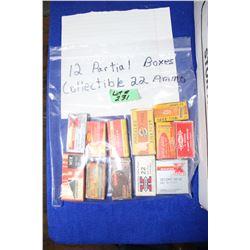 Collectible Ammunition (1 Bag of 12 Part Boxes)